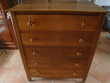 COMMODE 5 TIROIRS en NOYER
