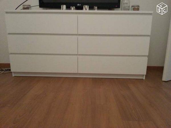 Achetez commode 6 tiroirs quasi neuf, annonce vente à Calais (62 ...