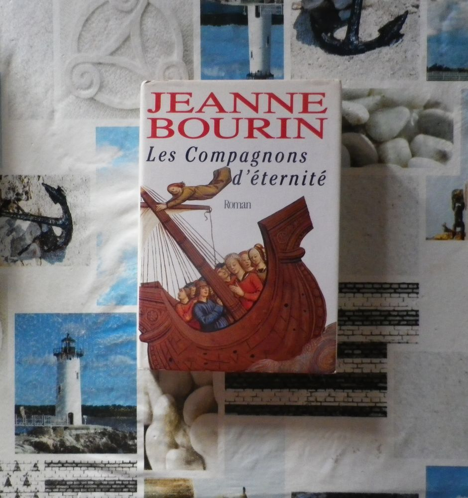 LES COMPAGNONS D'ETERNITE de Jeanne BOURIN 3 Bubry (56)