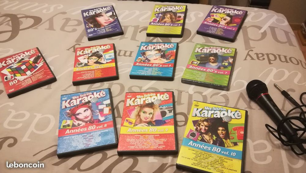Compil années 80 DVD et blu-ray