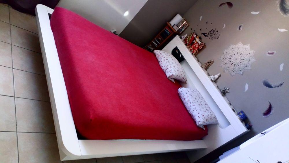 lit complet avec sommier 130 Lançon-Provence (13)