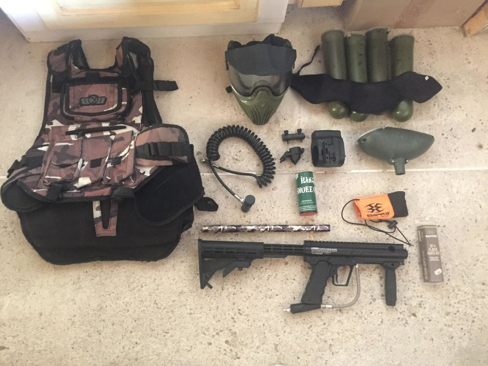 kit complet paintball sans bouteille Sports