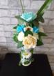 Composition de fleurs en SAVON fait main Décoration