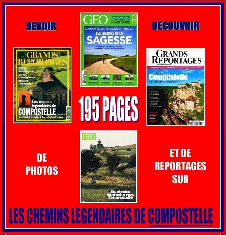 COMPOSTELLE - géo - PÈLERINAGE / prixportcompris 17 Lille (59)