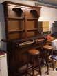 Bar comprenant arrière bar comptoir et 2 tabourets 250 Quimper (29)