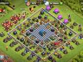 Compte clash of clans HDV12 max Heros 65/63/40 120 Colombes (92)