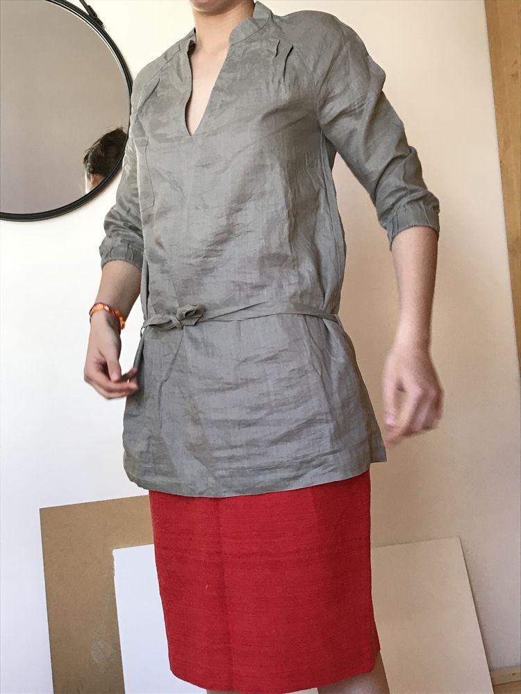 comptoir des cotonnniers - blouse en lin , taille 38 0 Paris 5 (75)