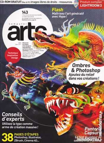 COMPUTER ARTS N° 143 avec CD ROM Inclus Livres et BD