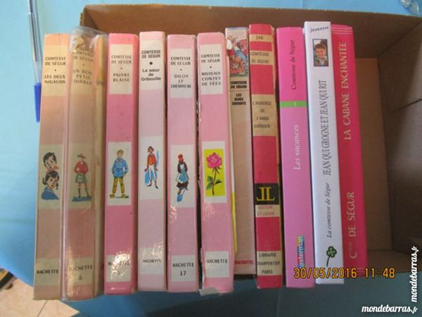 La Comtesse De Segur En Bibliotheque Rose