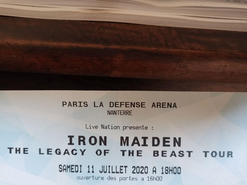 Concert iron maiden 100 La Chartre-sur-le-Loir (72)