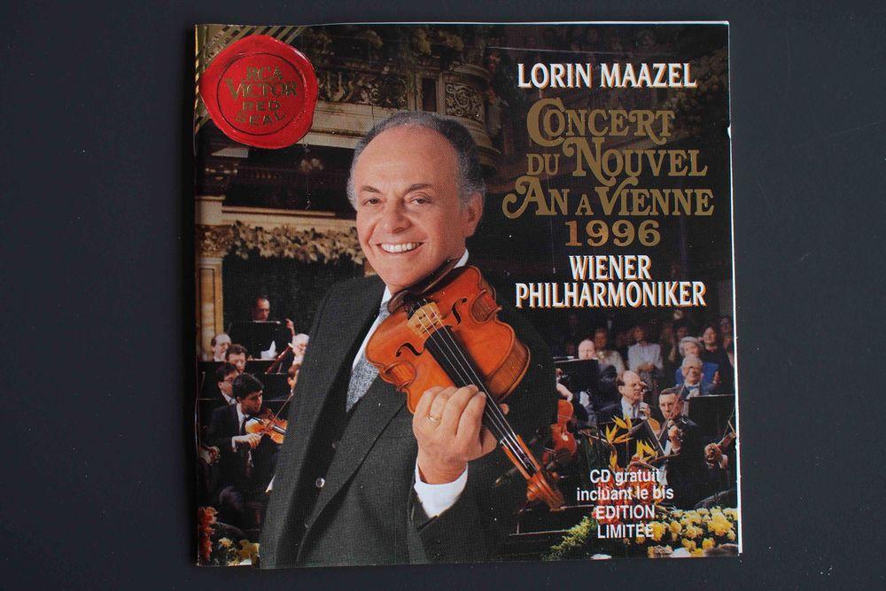 Concert du nouvel an à Vienne 1996, CD et vinyles