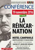 Conférence   LA REINCARNATION   6 Saint-Jean-de-Védas (34)