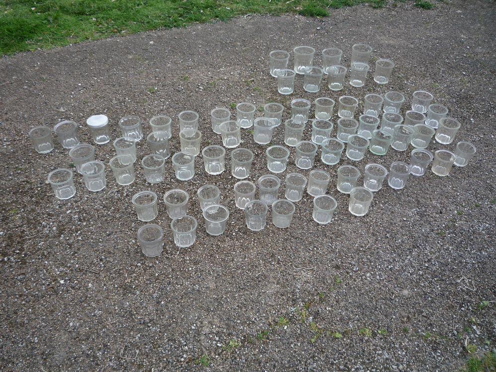 Pot à confiture ancien en verre très épais 3 Castres (81)