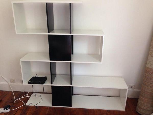 Achetez conforama quasi neuf annonce vente vincennes for Bibliotheque meuble conforama