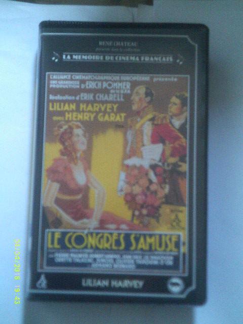 LE CONGRES S AMUSE avec lilian harvey (paypal accepte) DVD et blu-ray