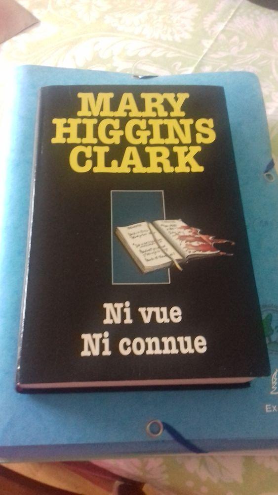 Ni vue ni connue livre de Mary Hyggins Clark  10 La Motte-Servolex (73)