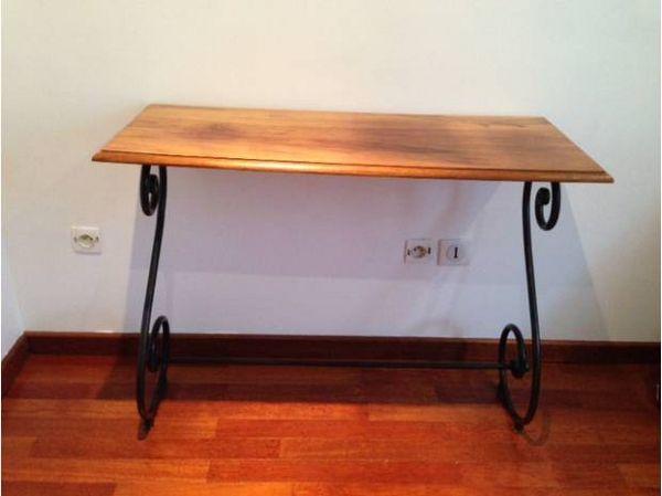 Achetez console bois du quasi neuf annonce vente aix en - Fabriquer une console en bois ...