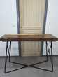 Console en bois massif de suar & acier acheté 249,99€