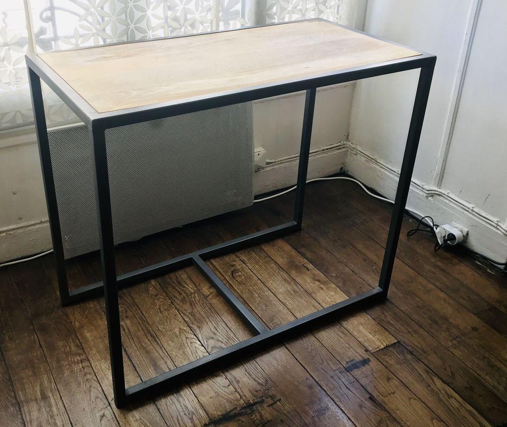 Console en bois/métal 80 Paris 12 (75)
