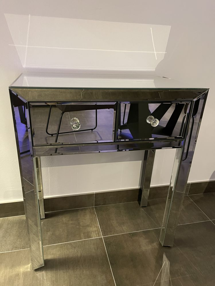 Console en miroir largeur 61,5 hauteur 72 profondeur 33cm 75 Nice (06)