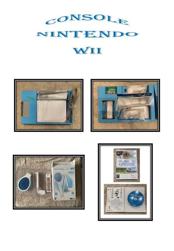 Console Nintendo WII et ses accessoires 100 Rennes (35)