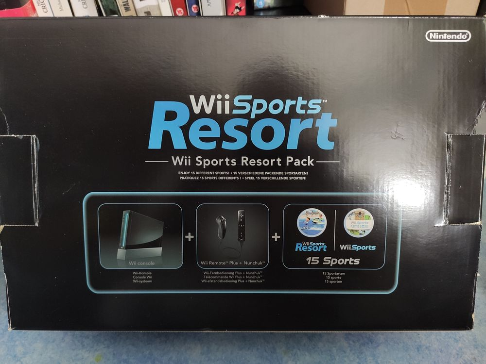 Console WII noir avec wii sport et resort 100 Saint-Georges-d'Oléron (17)