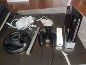 Console Wii noire TBE   + 2 Télécommande + VOLANT ET JEUX 100 Tassin-la-Demi-Lune (69)