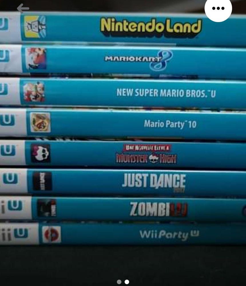 Console wii u plus 8 jeux Consoles et jeux vidéos