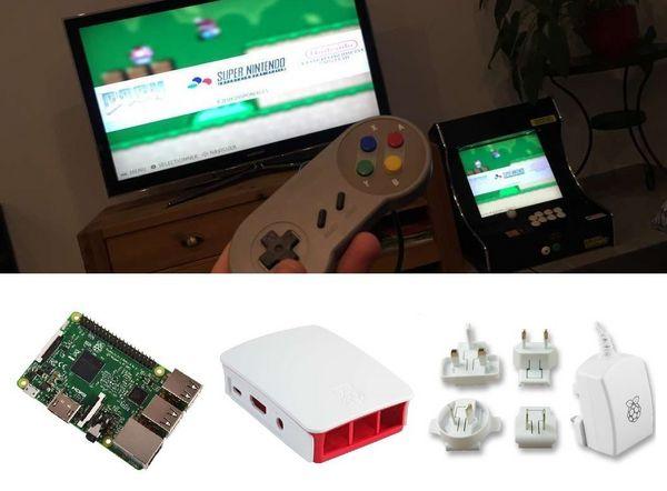 Console Retrogaming - Raspberry pi 3 - CarteSD 32 ou 64go 110 Paris 1 (75)