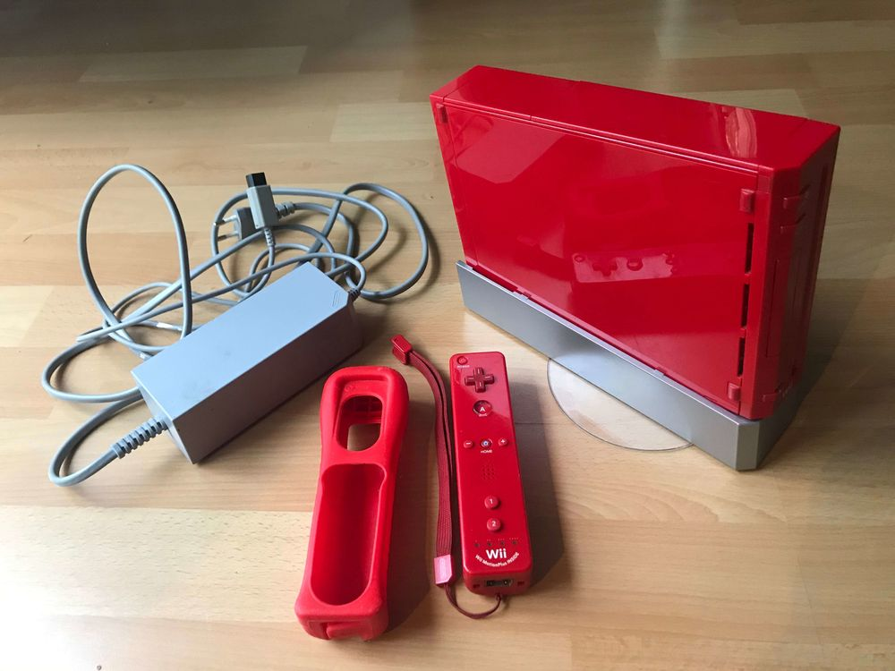 Console Wii Rouge édition limitée 75 Herblay (95)