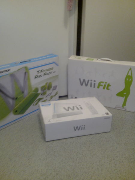 Console Wii fit sport et ses accessoires  150 Lille (59)