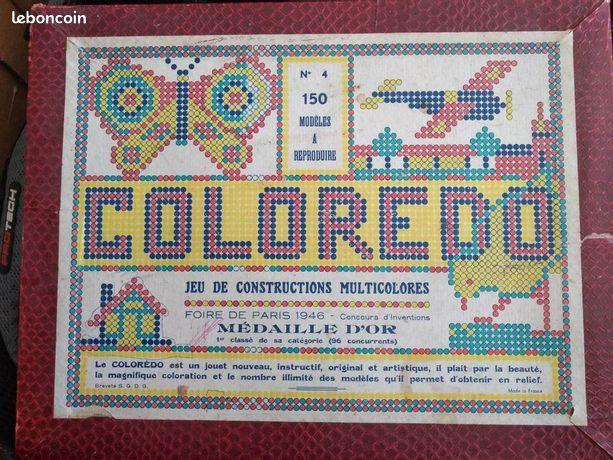 Jeu Construction multicolores COLOREDO 15 Montpellier (34)