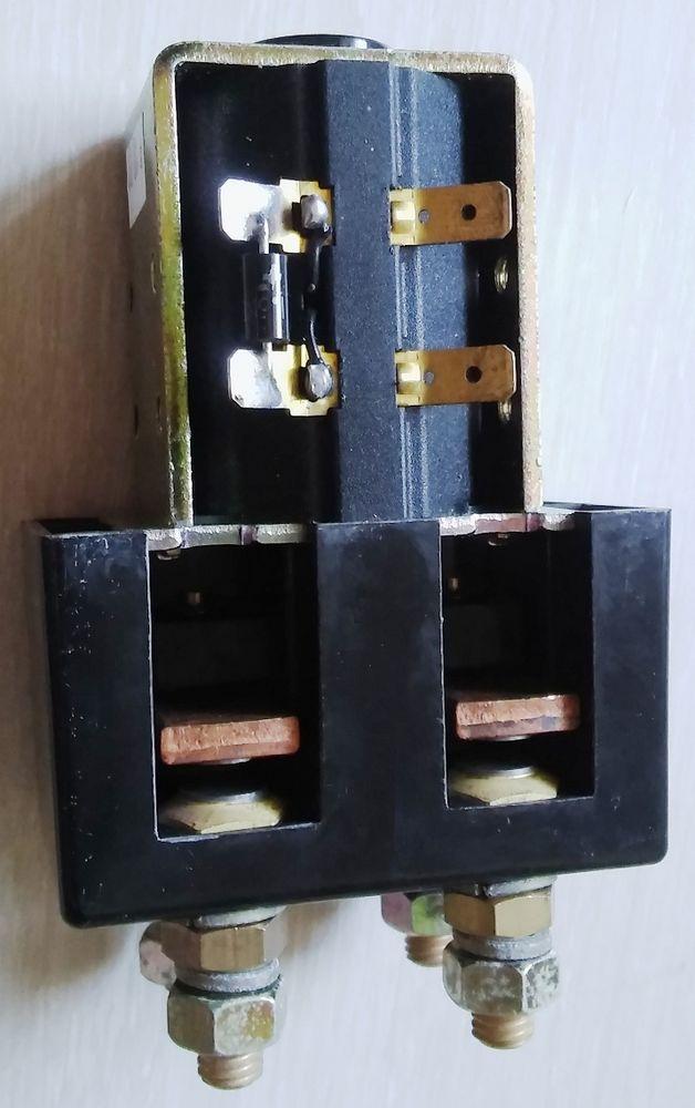 Lot de contacteur de puissance ALBRIGHT 200A 2T bobine 12VDC 45 La Rochelle (17)