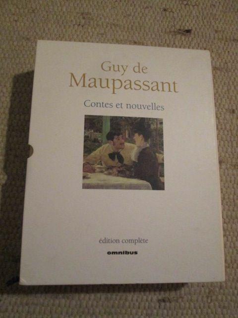 Contes et nouvelles Maupassant livre géant 55 Herblay (95)