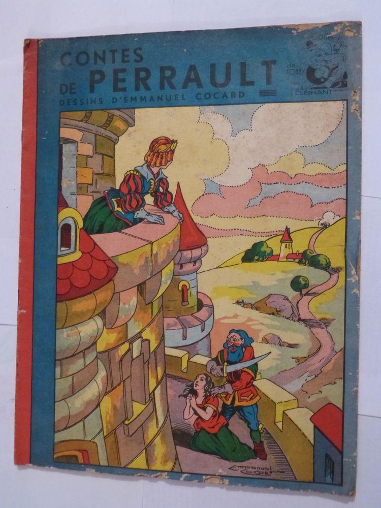 CONTES DE PERRAULT  illustrations  EMMANUEL COCARD 6 Brest (29)