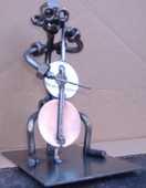 CONTREBASSISTE : Figurine de style Hinz ou Kunst 30 Clermont-Ferrand (63)