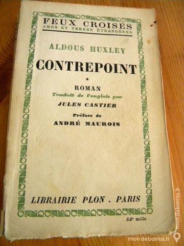 Contrepoint de Aldous Huxley - 1948 5 Villeurbanne (69)