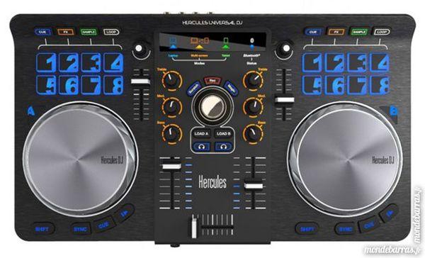 Contrôleur DJ USB Hercules Universal DJ Audio et hifi