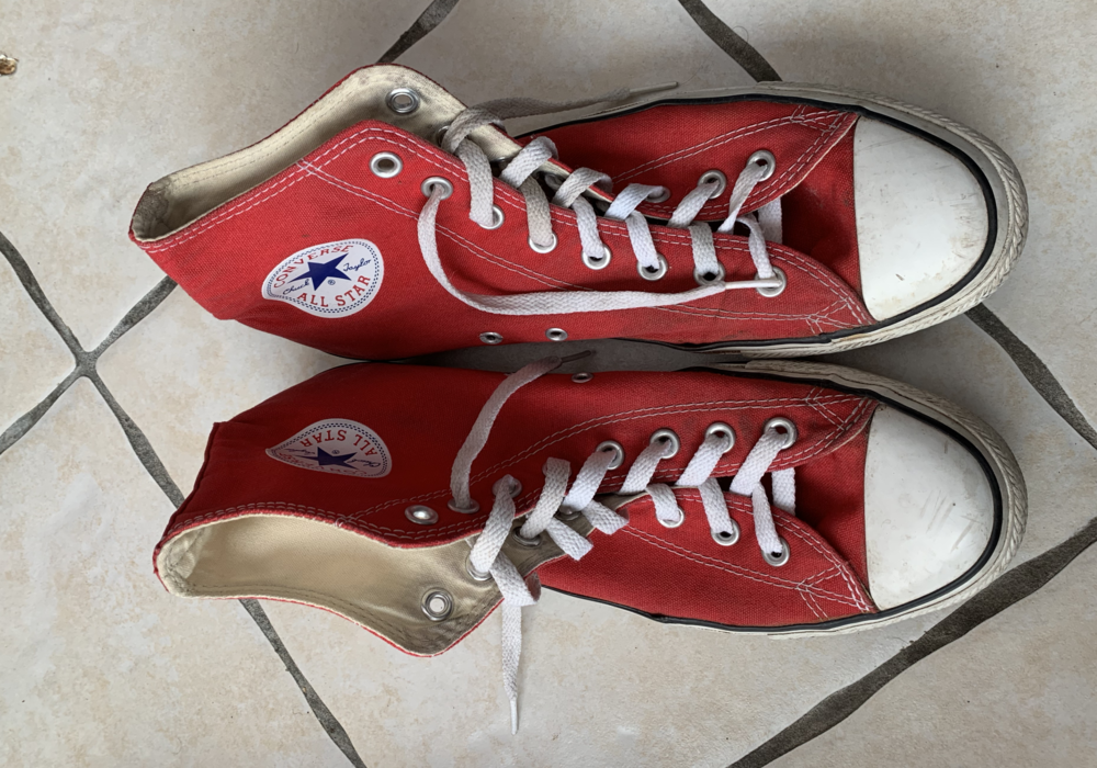 converse rouge occasion