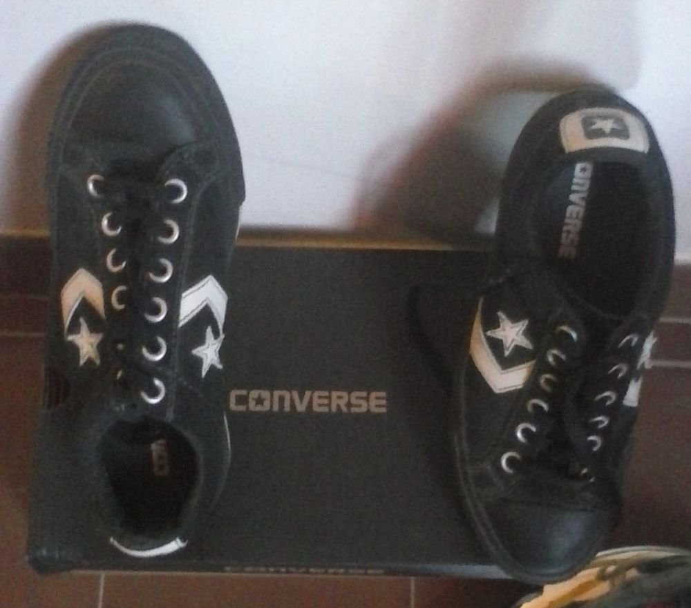 CONVERSE Unisex All Star cuir (T.38) Chaussures
