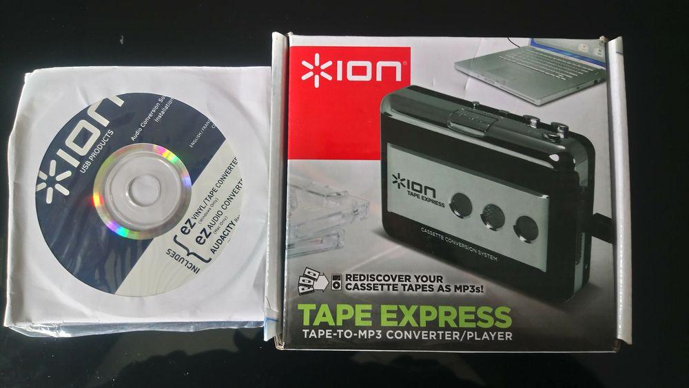 CONVERTISSEUR A / N K7 Audio  ION  35 Évry (91)