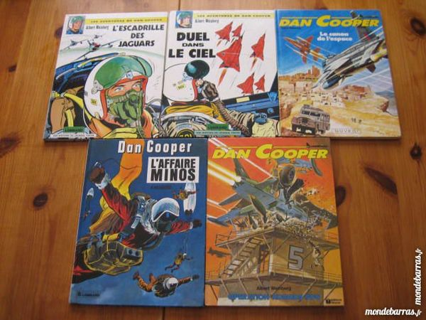 Lot 5 bd DAN COOPER 5+7+20+25+26 TBE 28 Cézy (89)