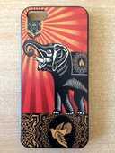 Coque pour iphone 5 motif elephant obey 3 Carnon Plage (34)