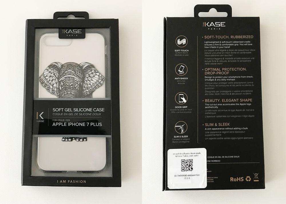Coque en gel de silicone doux pour apple iphone 7 plus