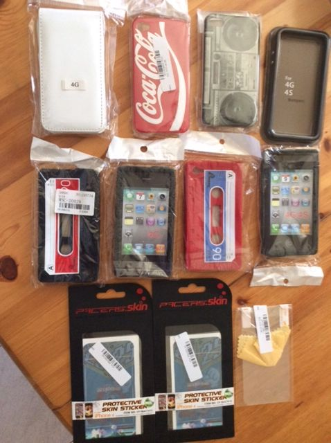 LOT COQUES IPHONE 4G 8 Bouray-sur-Juine (91)