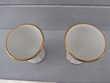 Coquetiers en porcelaine