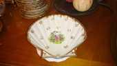 12 COQUILLES  St Jacques  porcelaine Limoges 40 La Teste-de-Buch (33)