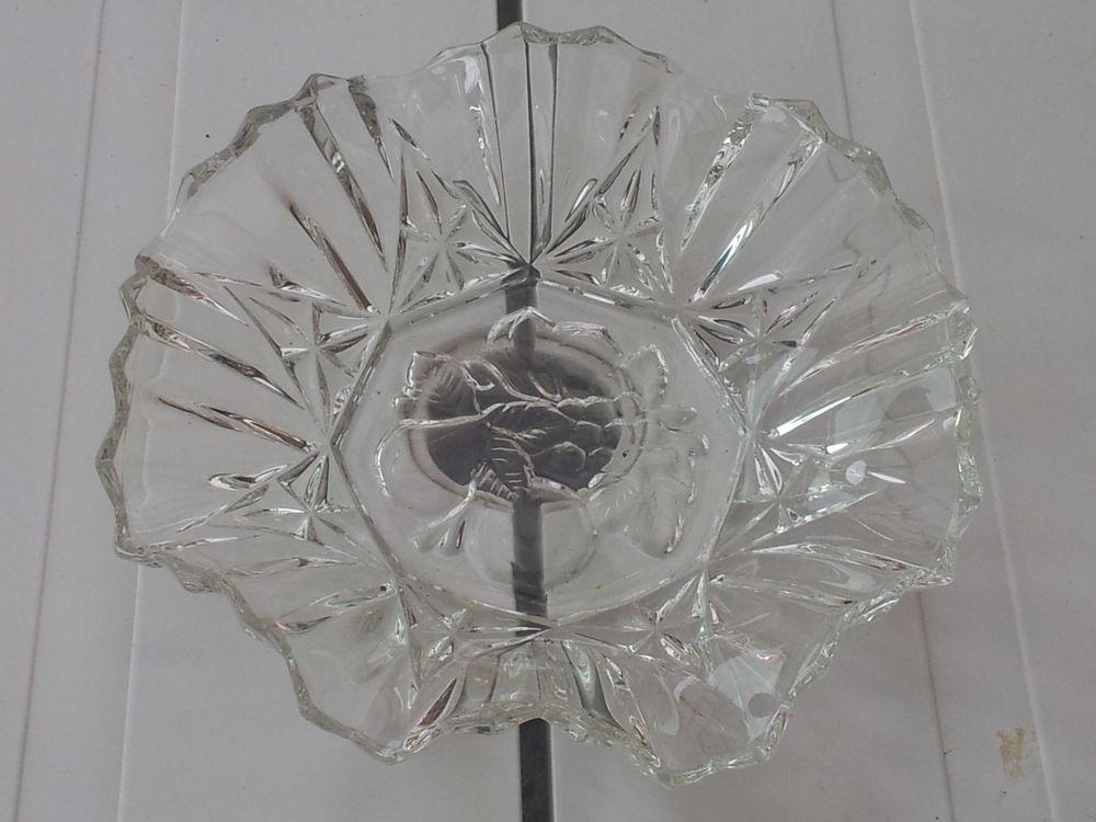 corbeille arrondie en verre transparent pas un éclat 0 Mérignies (59)