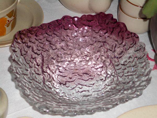 Corbeille à fruit, à pain en verre diamètre : 24cm 20 Monflanquin (47)