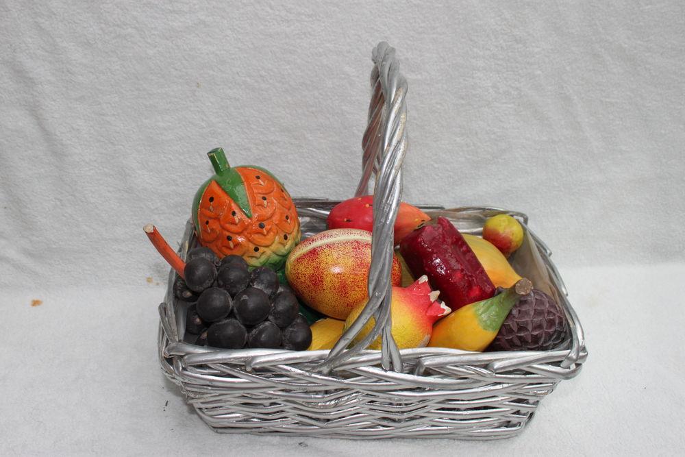 Corbeille osier à fruits